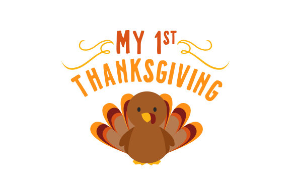 My 1st Thanksgiving Baby Craft Cut File By Creative Fabrica Crafts