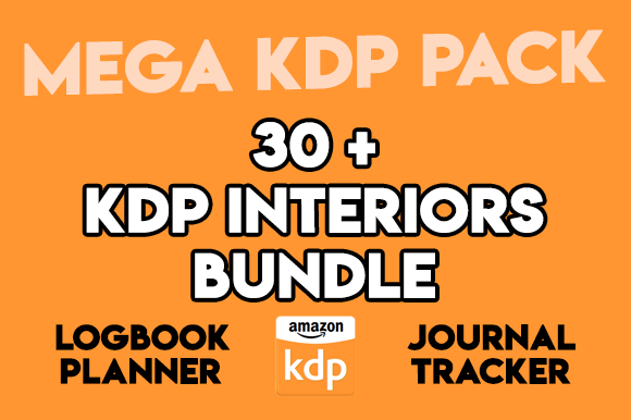 Print on Demand: 30+ KDP Interior Bundle Templates Graphic KDP Interiors By Fox Design Studio