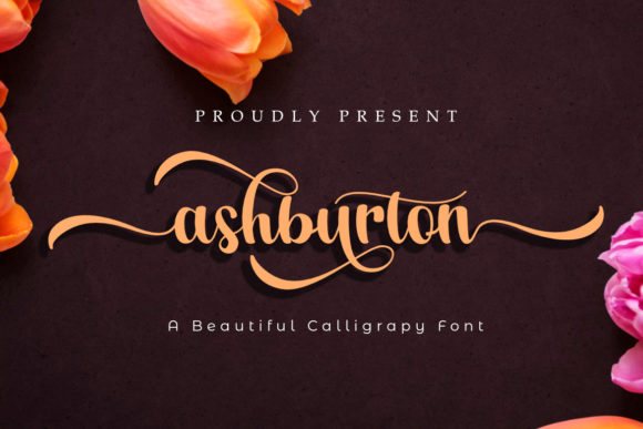 Print on Demand: Ashburton Manuscrita Fuente Por Madatype Studio