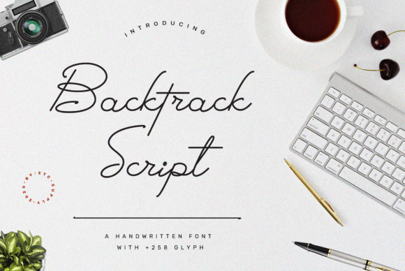 Print on Demand: Backtrack Script Manuscrita Fuente Por Etc-Supply