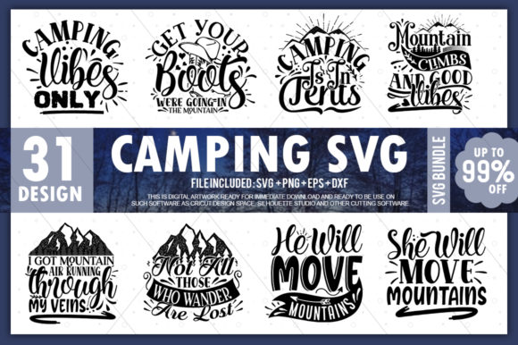 Funny Camping Quotes Svg Free Svg Cut Files Create Your Diy Projects Using Your Cricut Explore Silhouette And More The Free Cut Files Include Svg Dxf Eps And Png Files