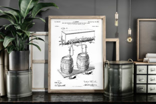 Print on Demand: Cold Air Pressure Apparatus Patent Art Graphic Illustrations By Antique Pixls