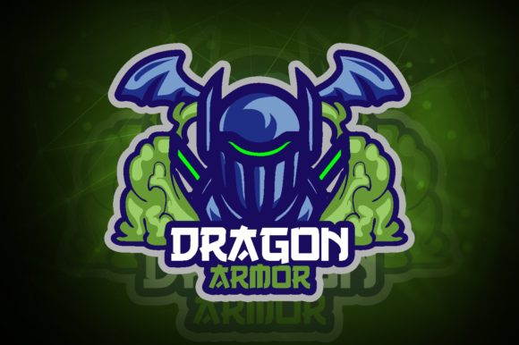 Dragon Armor E-Sport Logo Graphic Logos By remarena