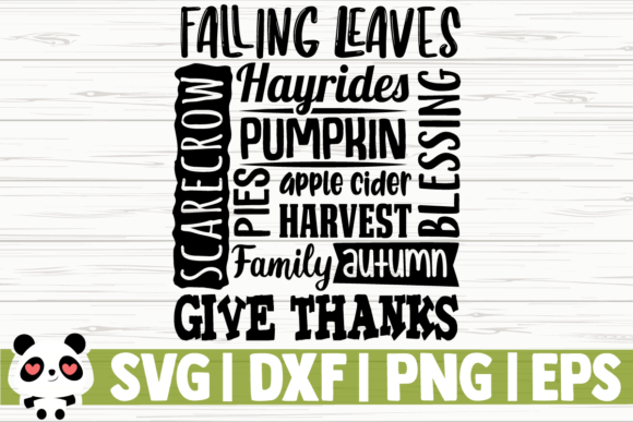 Print on Demand: Falling Leaves Hayrides Pumpkin Apple Graphic Illustrations By CreativeDesignsLLC