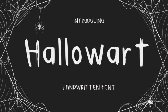 Print on Demand: Hallowart Decorative Font By Ality