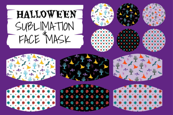 Print on Demand: Halloween Beautiful Crafting Graphic Illustrations By edywiyonopp