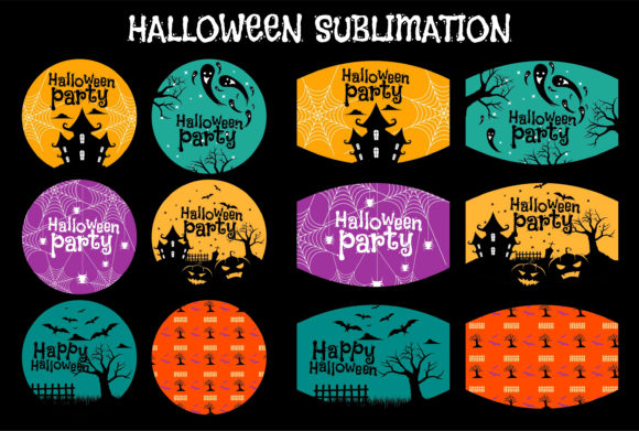 Print on Demand: Halloween Sublimation Attractive Graphic Illustrations By edywiyonopp