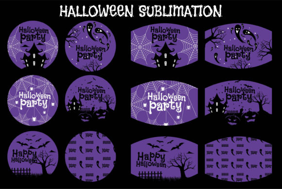 Print on Demand: Halloween Sublimation Creative Graphic Illustrations By edywiyonopp