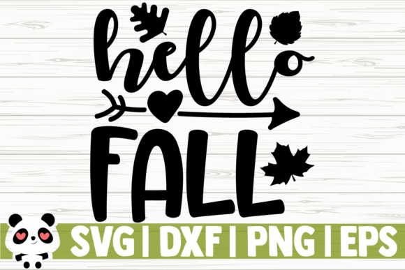 Print on Demand: Hello Fall Graphic Illustrations By CreativeDesignsLLC