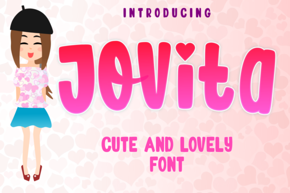 Print on Demand: Jovita Display Font By estede75