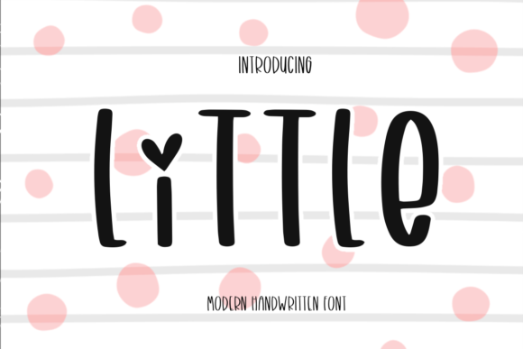 Print on Demand: Little Script & Handwritten Font By Ality