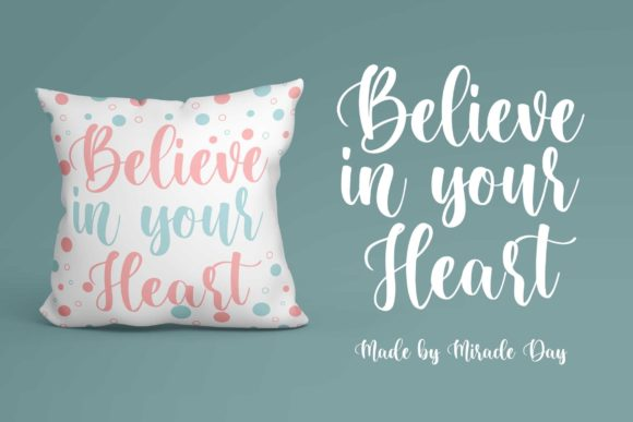 Miracle Day Font Item