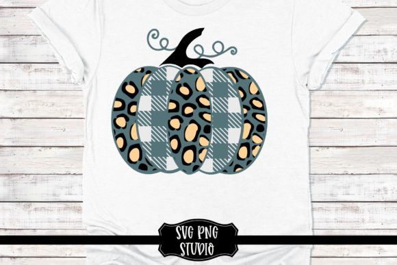 Plaid Pumpkin Cut File Graphic Crafts By mainandmouse