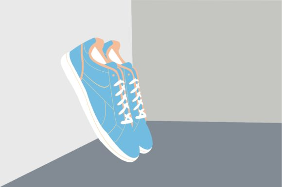 School Shoes 1 Graphic Illustrations By harunikaart
