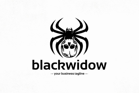 Spider Skull Vector Logo Template Graphic Logos By vectorwithin