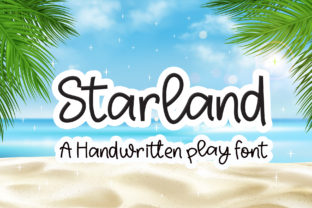 Print on Demand: Starland Script & Handwritten Font By Sulthan Studio