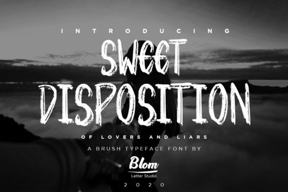 Print on Demand: Sweet Disposition Display Font By blomletter