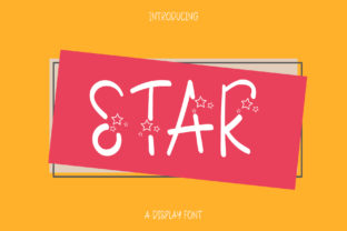 Print on Demand: The Star Decorative Font By Wanida Toffy