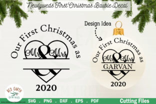 Wedding 1st Christmas Mr Mrs Graphic Crafts By redearth and gumtrees