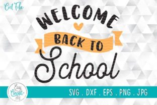 Print on Demand: Welcome Back to School Graphic Crafts By EasyConceptSvg