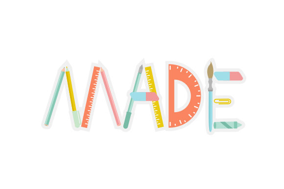 MADE Designs & Drawings Craft Cut File By Creative Fabrica Crafts