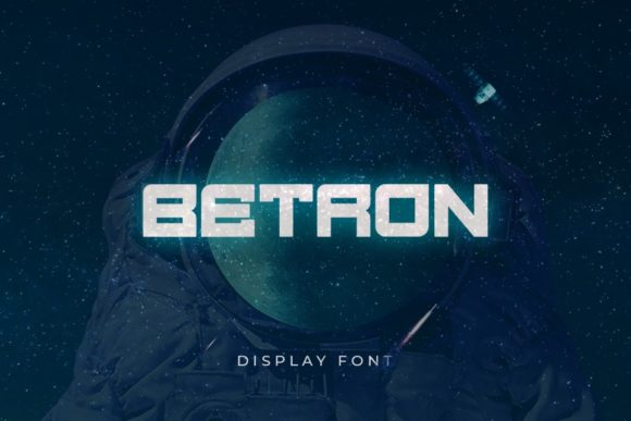 Print on Demand: Betron Display Font By Din Studio - Image 1