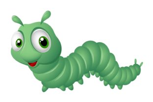 Cute Caterpillar Clipart Graphic Illustrations By Ka Design