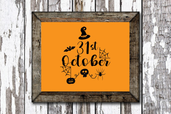 Print on Demand: Halloween 31st October Graphic Crafts By KtwoP