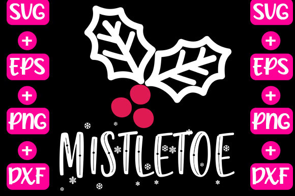 Print on Demand: Mistletoe Graphic Print Templates By svg.in.design