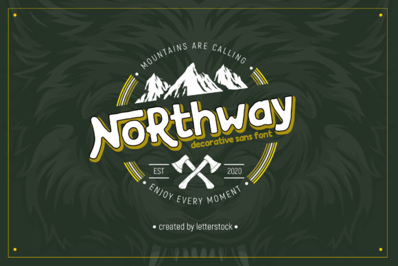 Print on Demand: Northway Display Font By Gumacreative