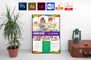 Print on Demand: Poster | Baby Care Vol-02 Graphic Print Templates By Imagine Design Studio