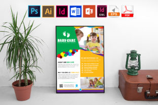 Print on Demand: Poster | Baby Care Vol-03 Graphic Print Templates By Imagine Design Studio