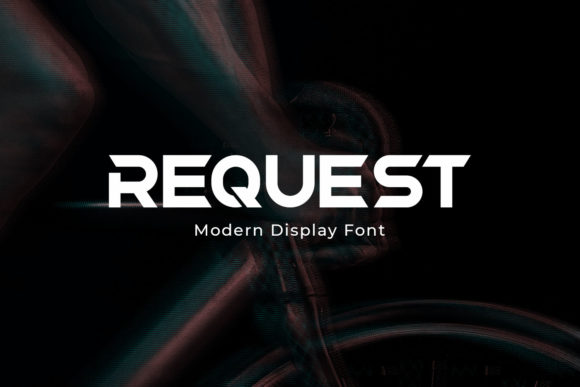 Print on Demand: Request Display Font By Din Studio