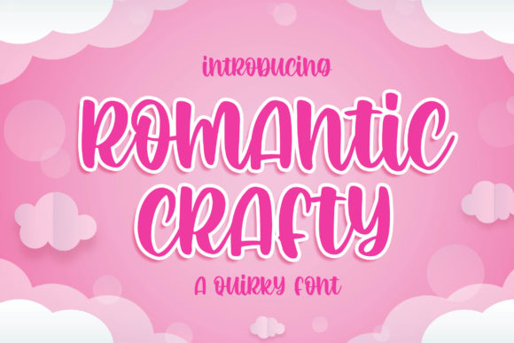Print on Demand: Romantic Crafty Script & Handwritten Font By Blankids Studio