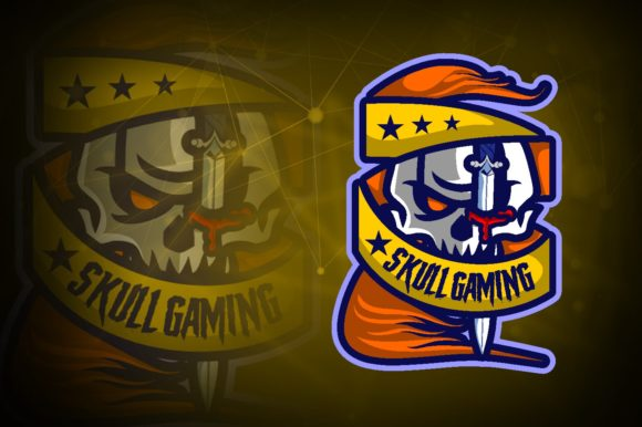 Skull Gaming E-Sport Logo Graphic Logos By remarena
