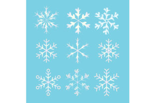 Snow Ice Freezes in Winter Graphic Illustrations By GVL