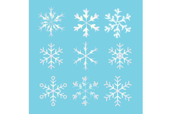 Snow Ice Freezes in Winter Graphic Illustrations By griyolabs