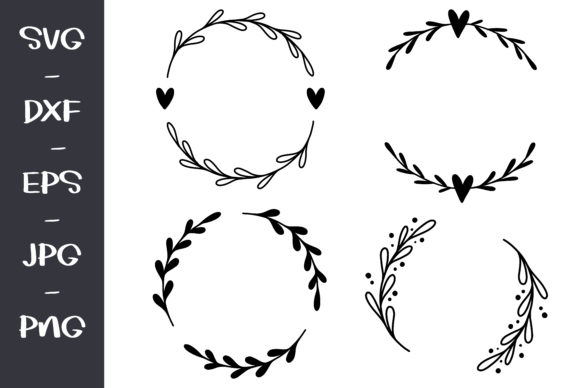 Wreath Cilpat Graphic Objects By wanchana365