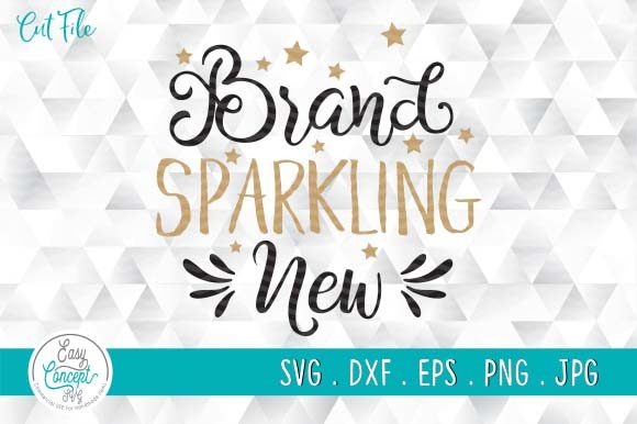 Brand Sparkling New Graphic Crafts By EasyConceptSvg