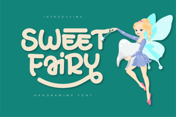 Print on Demand: Sweet Fairy Display Font By twinletter