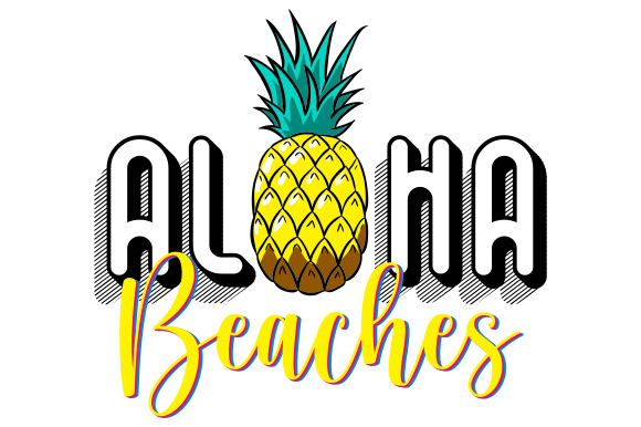 Print on Demand: Aloha Beaches Craft Graphic Crafts By AP