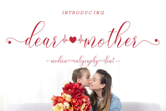 Print on Demand: Dear Mother Script & Handwritten Font By IRF Lab Studio