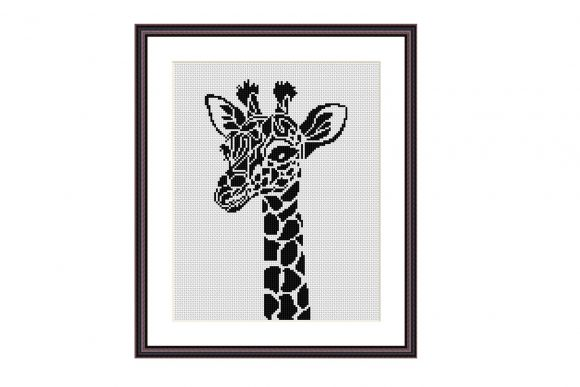 Giraffe Simple Cross Stitch Pattern Graphic Cross Stitch Patterns By e6702