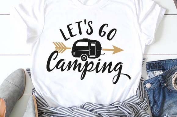 Let's Go Camping  Graphic Crafts By EasyConceptSvg