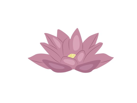 Print on Demand: Lotus Flowers Graphic Illustrations By archshape