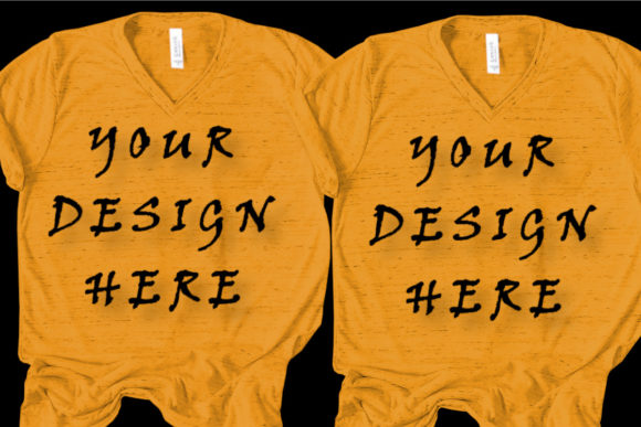 Matching T-shirts Mockups, Couple,Family Graphic Product Mockups By ArtStudio