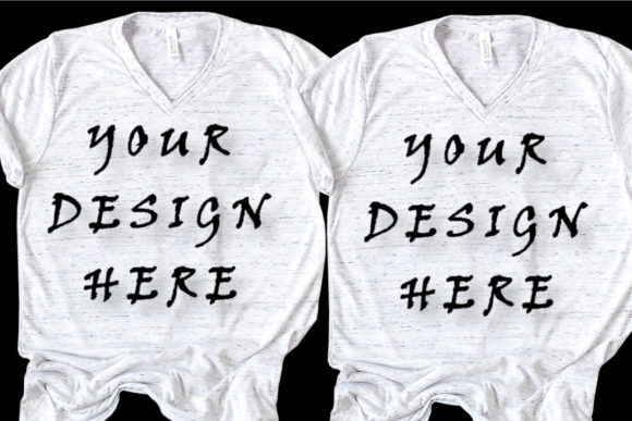 Mockups Matching T-shirts, Family,Couple Graphic Product Mockups By ArtStudio