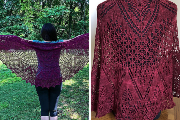 Through the Witch's Garden (Knitting Pattern) Graphic Download