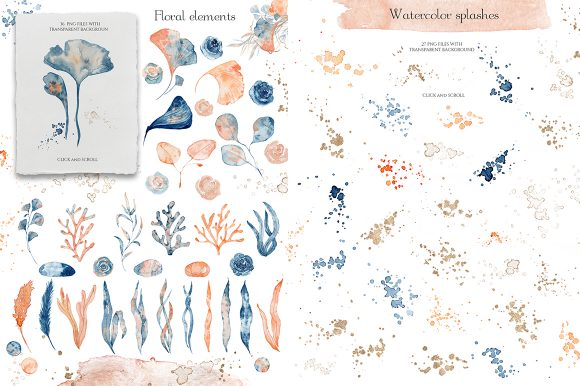 Underwater Watercolor Collection Graphic Illustrations By EvgeniiasArt - Image 5