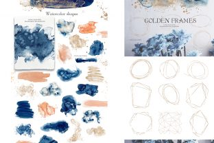 Underwater Watercolor Collection Graphic Illustrations By EvgeniiasArt 7